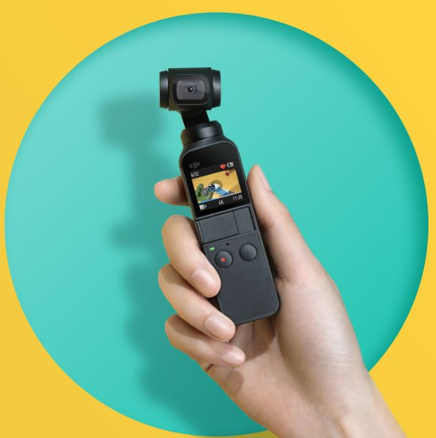 DJI OSMO Pocket Compact Convenience at a Glance