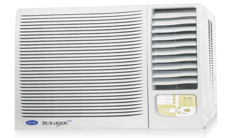 Carrier gwrac018dr030 1 5 ton 2 star window air for 15 width window air conditioner