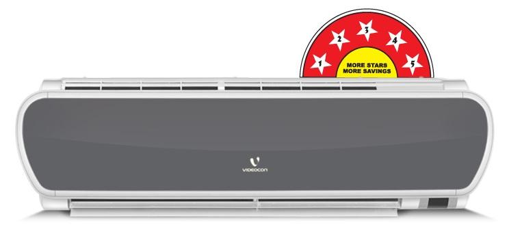 Videocon vsy35 lt 1 ton 5 star split price specifications for 1 ton window ac power consumption per hour