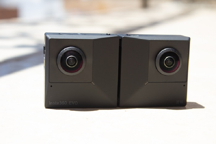 Insta360 Evo - VR camera that records videos and images in 360