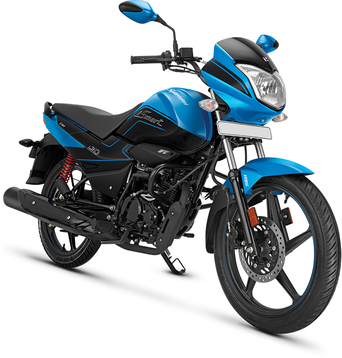 Hero Splendor i-Smart with BS6 engine launched in India with more new features and smart technology.