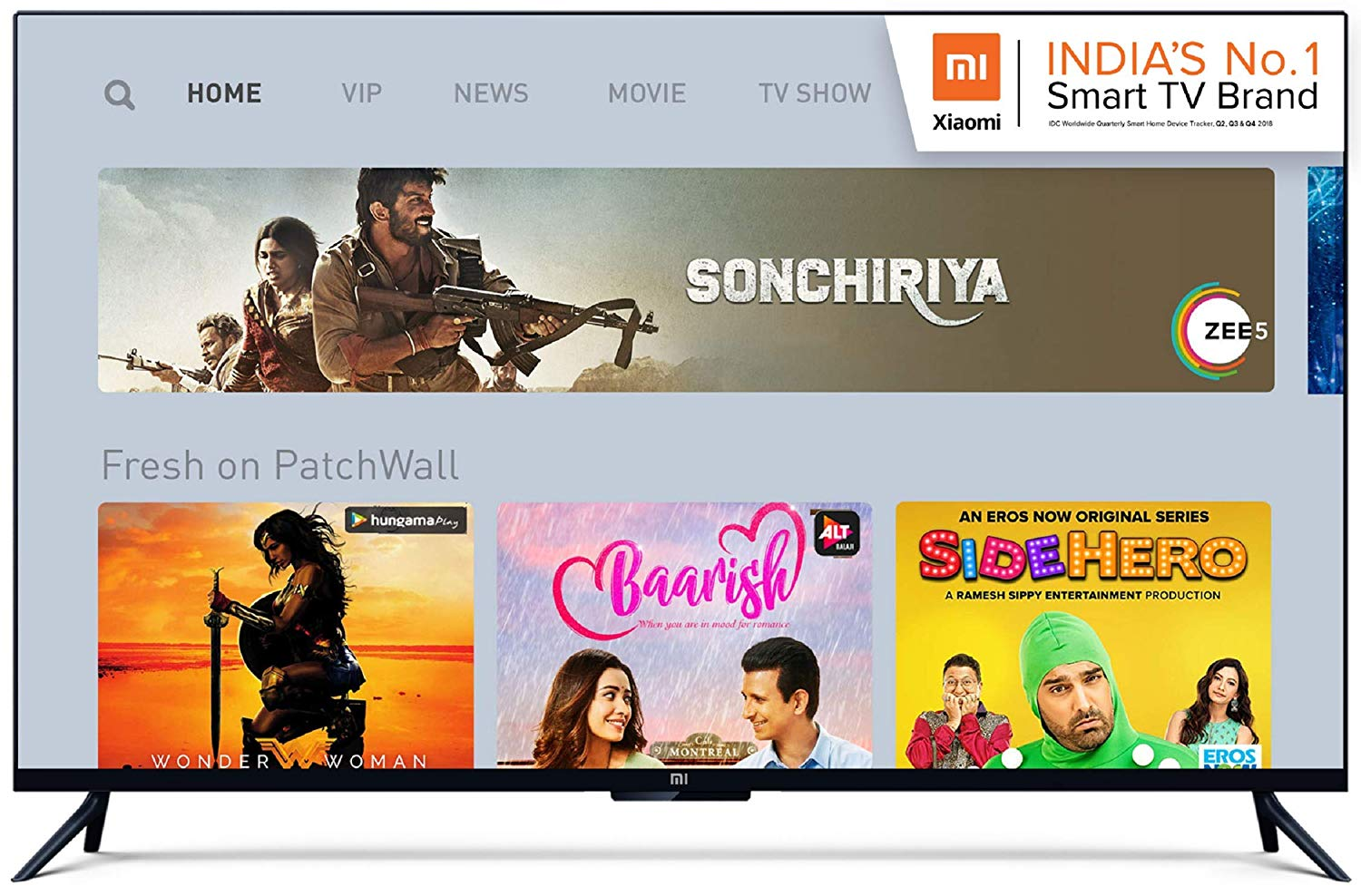 Top 5 smart LED TV in India (55-inch)