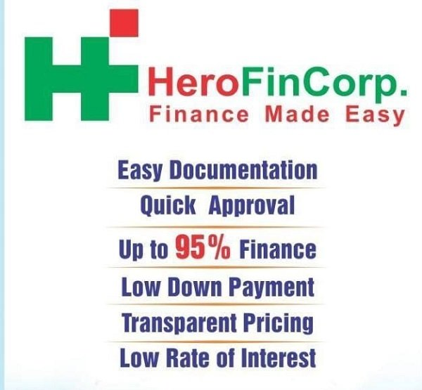 HeroFincorp Bike Loan Offices in India