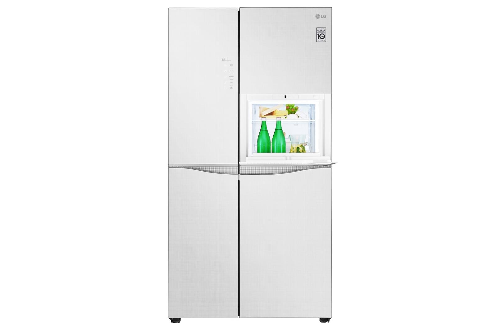Lg Gc C247uglw 675 L Star Side By Side Refrigerator